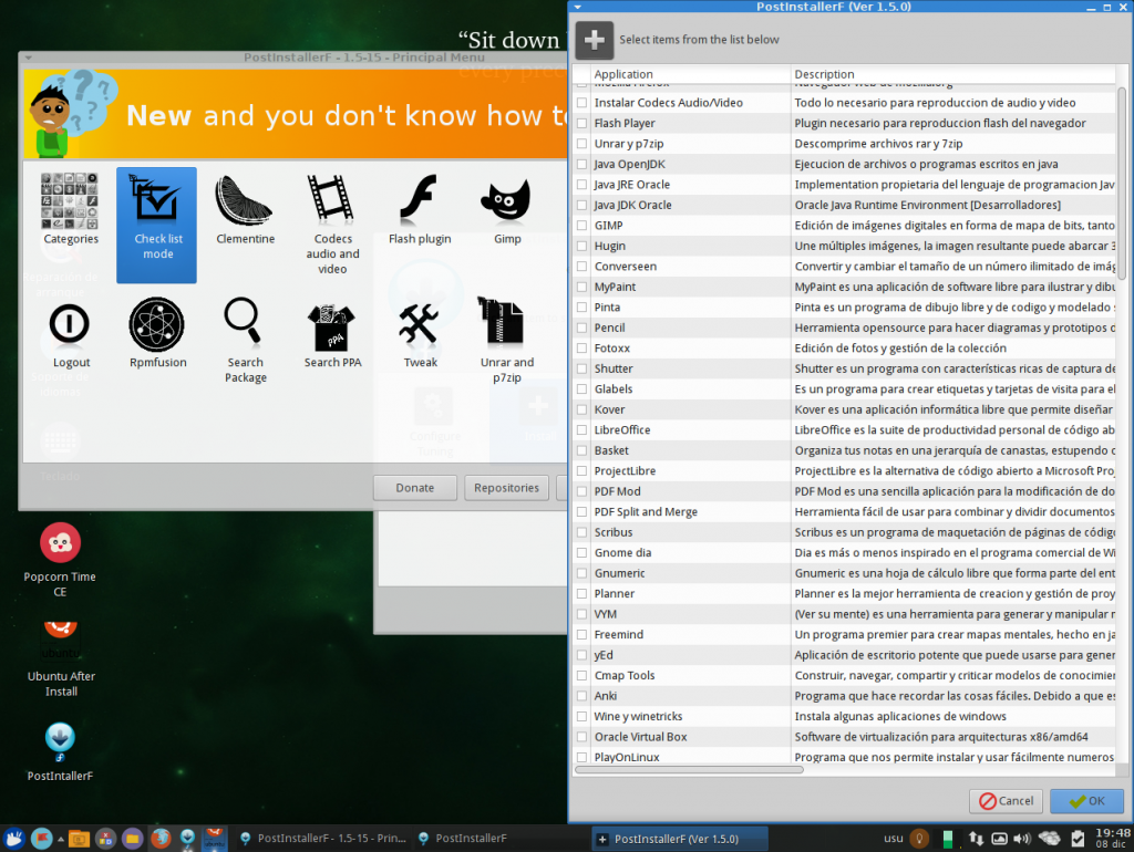 VirtualBox_XJubuntu 64 Pinguy_08_12_2015_19_48_11 Postinstallerf